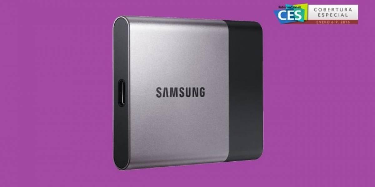 Samsung presenta memoria SSD para smartphones #CES2016