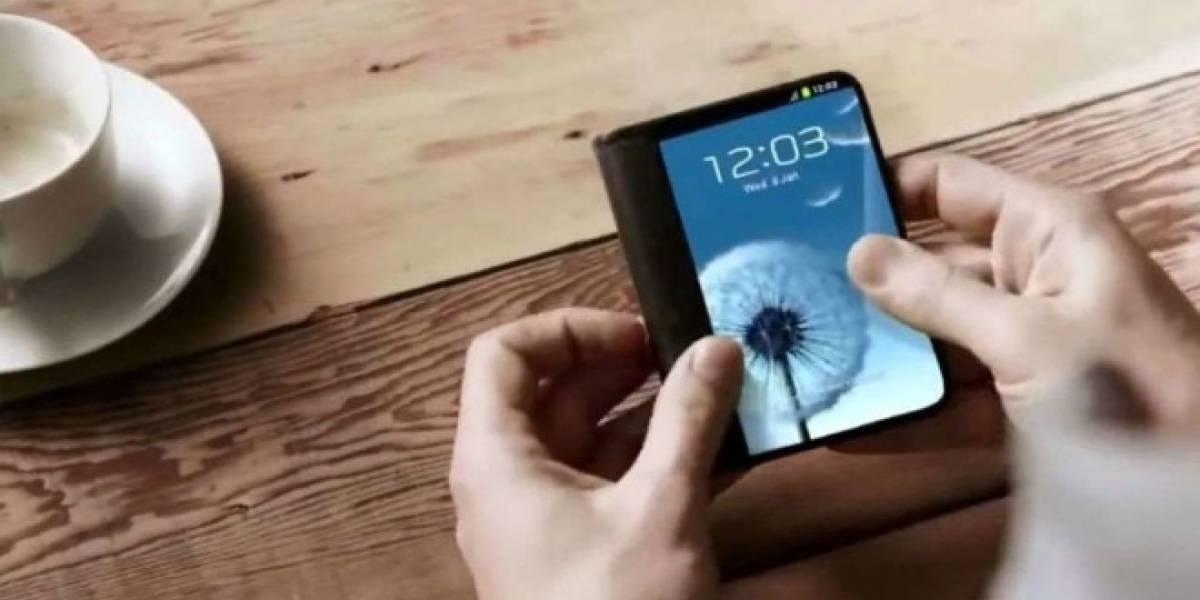 Samsung dice que las pantallas plegables están más cerca de lo que pensamos