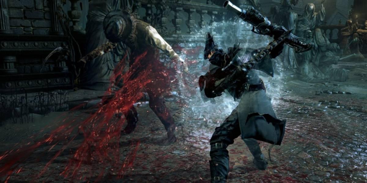 Mira 45 minutos del alpha de Bloodborne