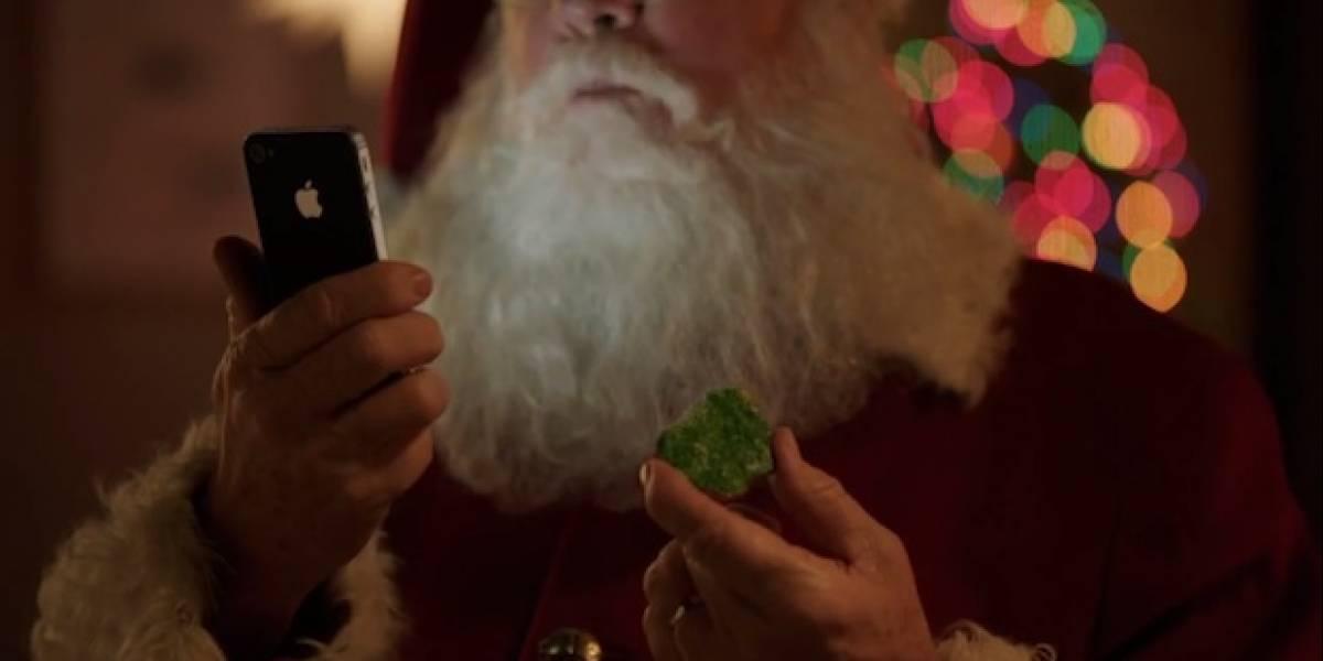 Santa Claus no puede trabajar sin Siri