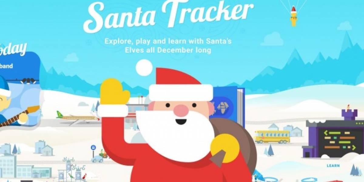 Ya puedes seguir a Santa Claus con estas aplicaciones