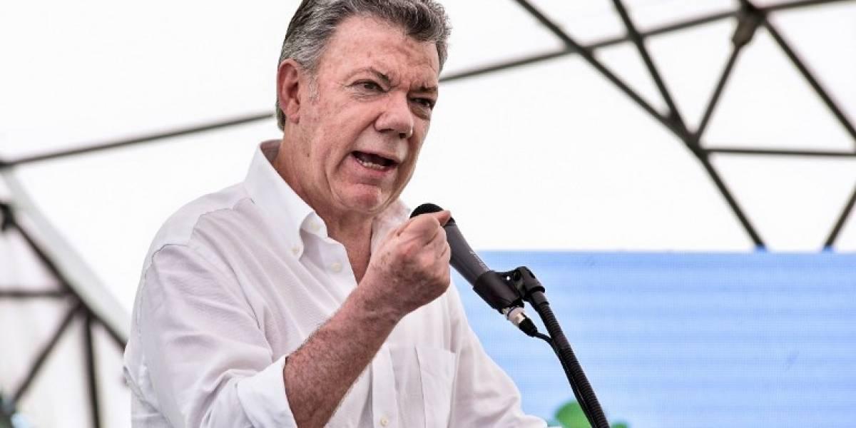 Santos suspende diálogos con el ELN tras atentados en Colombia