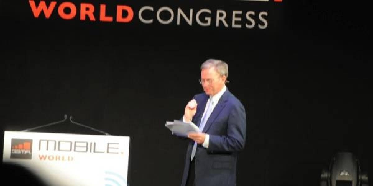 MWC 2011: Eric Schmidt sitúa a la publicidad como el gran campo de batalla a futuro