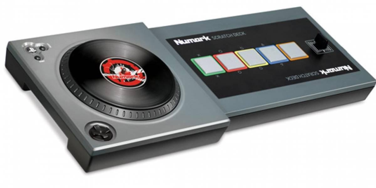 Este será el control para Scratch: The Ultimate DJ