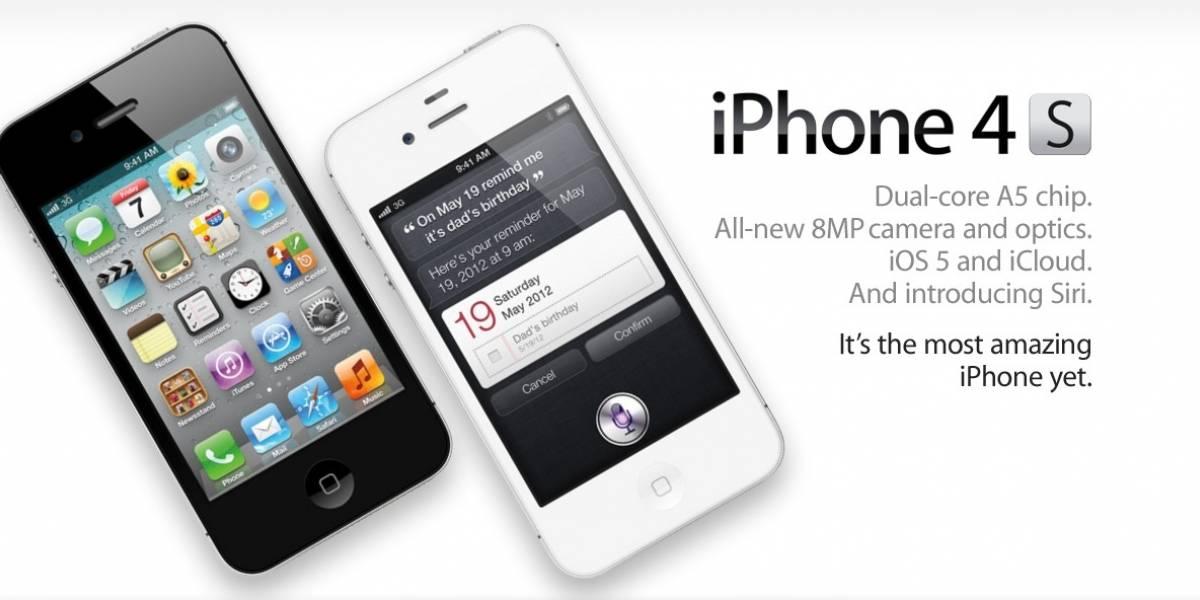 Operadora norteamericana AT&T ya vendió 200 mil iPhone 4S en las primeras 12 horas