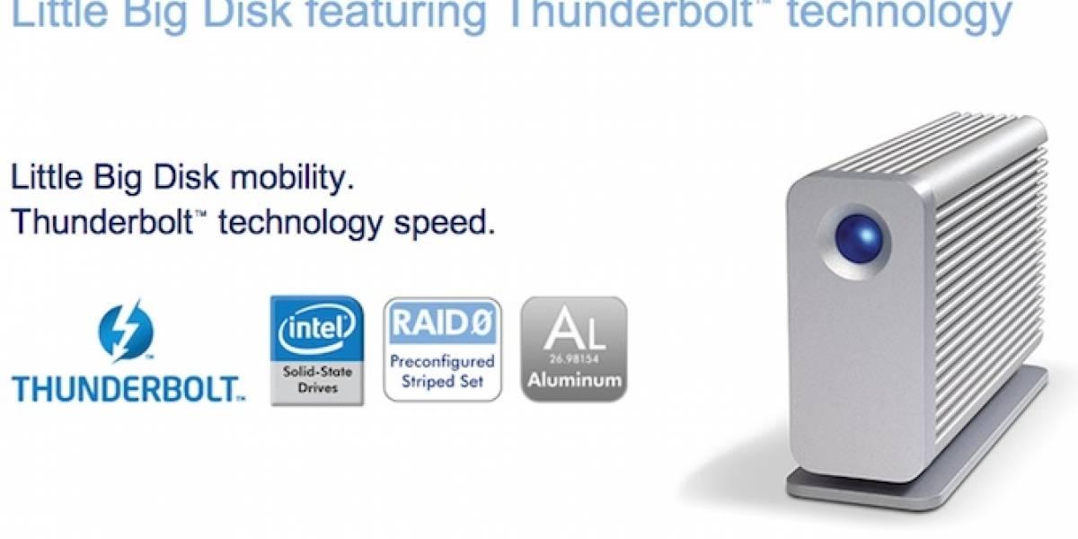 Aparecen los primeros productos con la tecnología Thunderbolt
