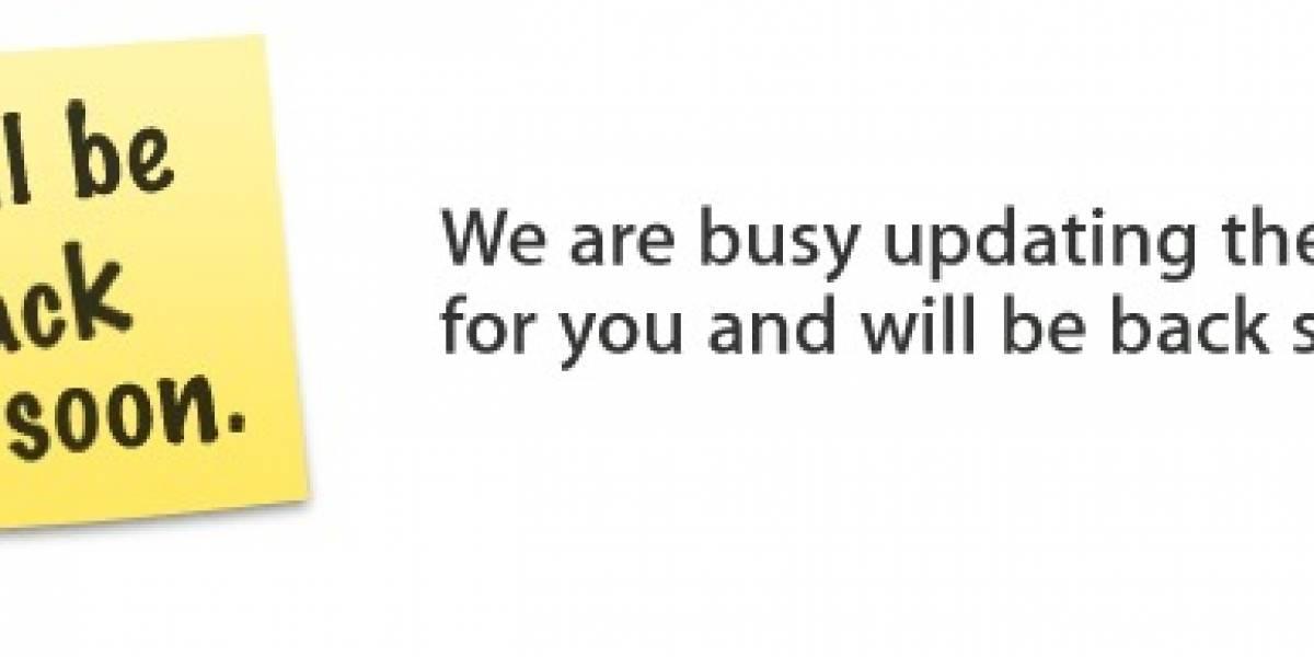 ¡El Apple Store está cerrado!