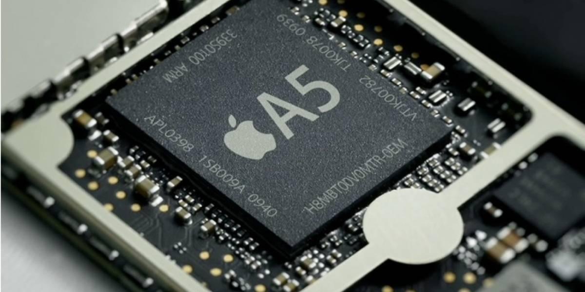 El procesador A5 es fabricado por Samsung en Austin, Texas