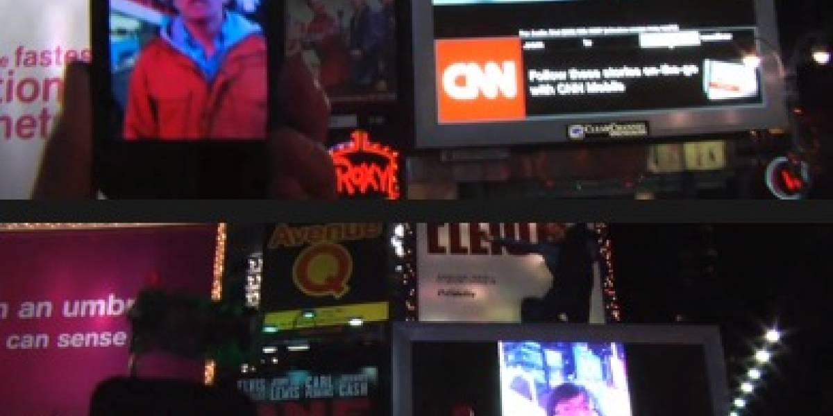 Hacker se toma pantallas de Times Square con su iPhone (Bueno, no)