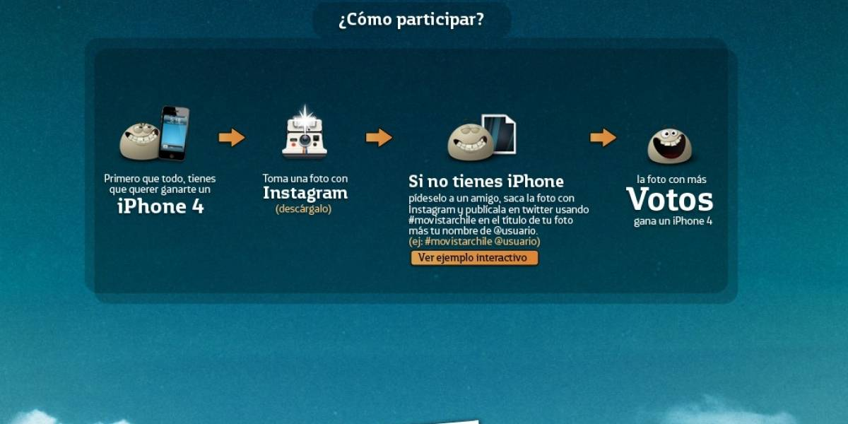 Tremenda Foto: Gánate un iPhone 4 de Movistar usando Instagr.am