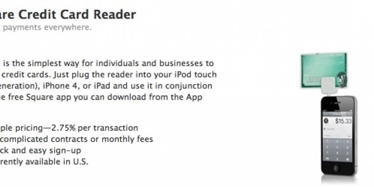 Square recibe ayuda de Apple para promocionar pagos con tarjetas de crédito
