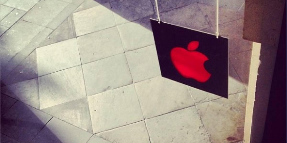 Apple y otras marcas de rojo para luchar contra el SIDA