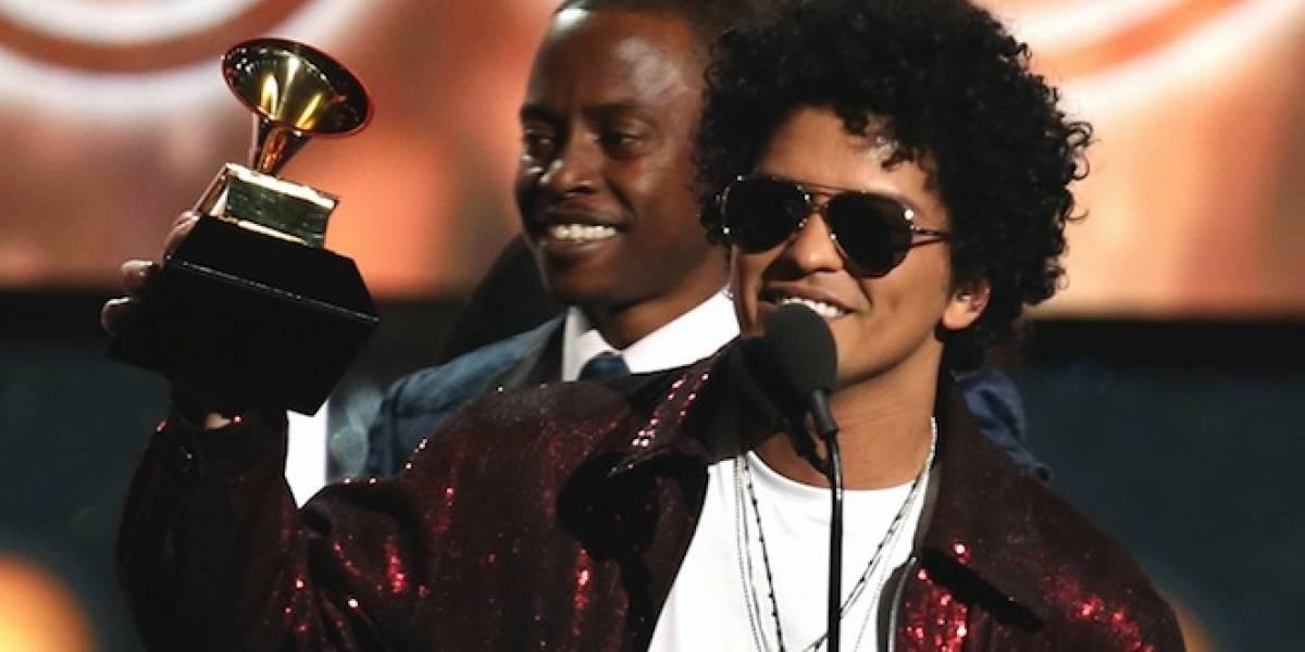 Bruno Mars conquista la entrega número 60 del Grammy