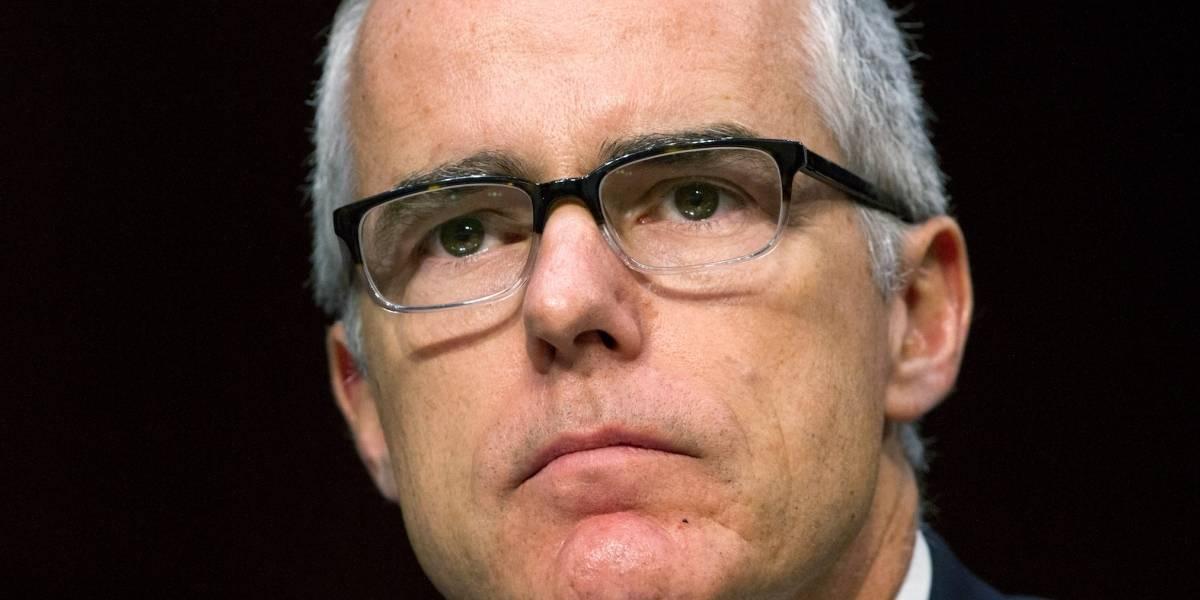 Renuncia el subdirector del FBI, Andrew McCabe
