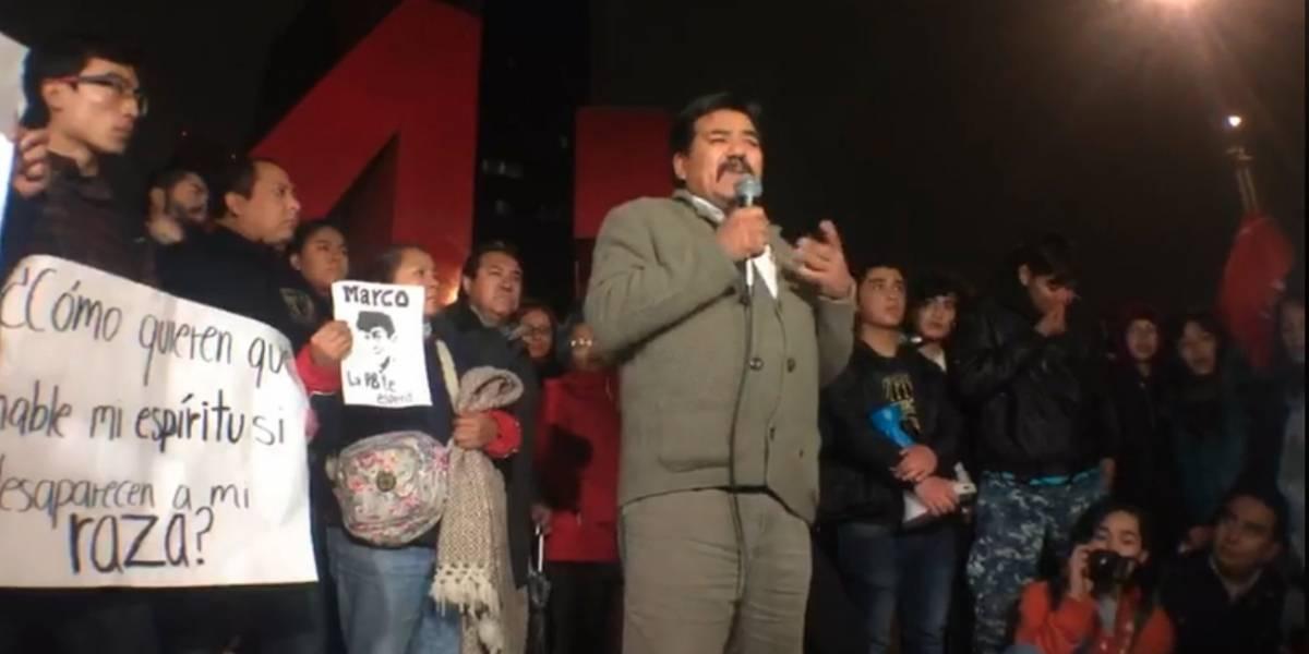 'Sano se lo llevaron y sano lo queremos', exige padre de Marco Antonio