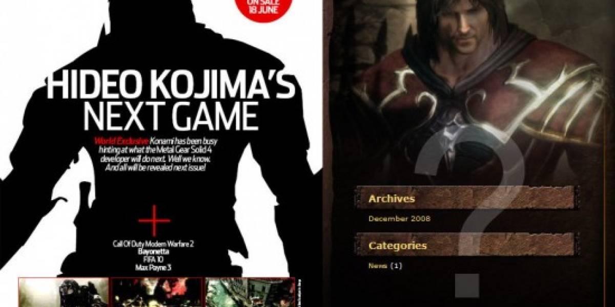Más expectación por lo próximo de Kojima Productions