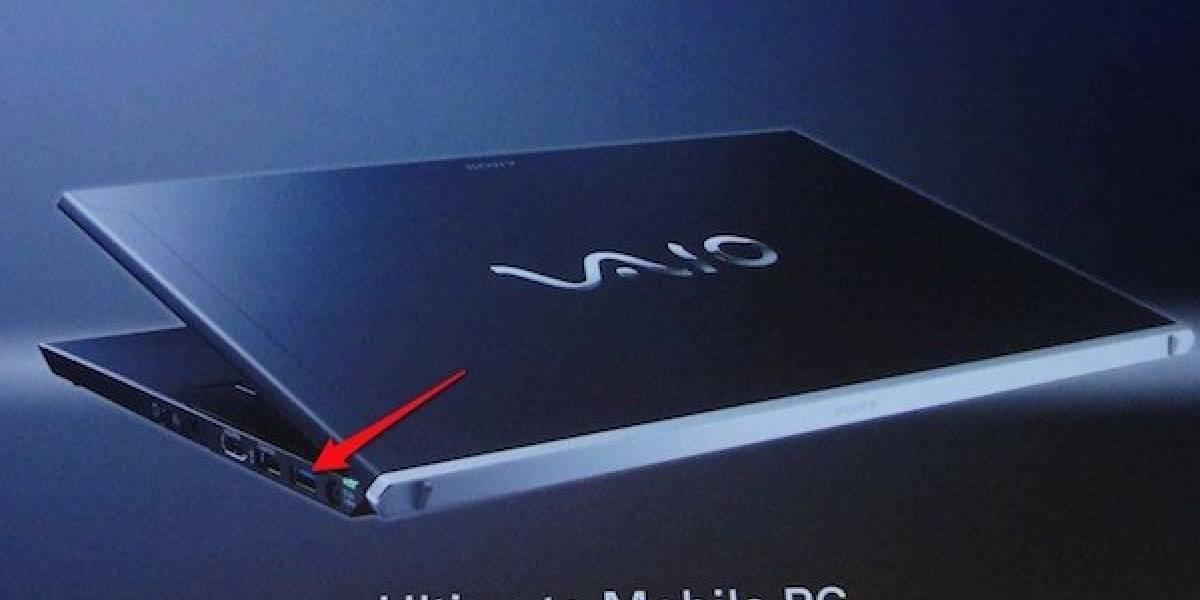 Implementación de Thunderbolt en los Sony VAIO sería a través de USB