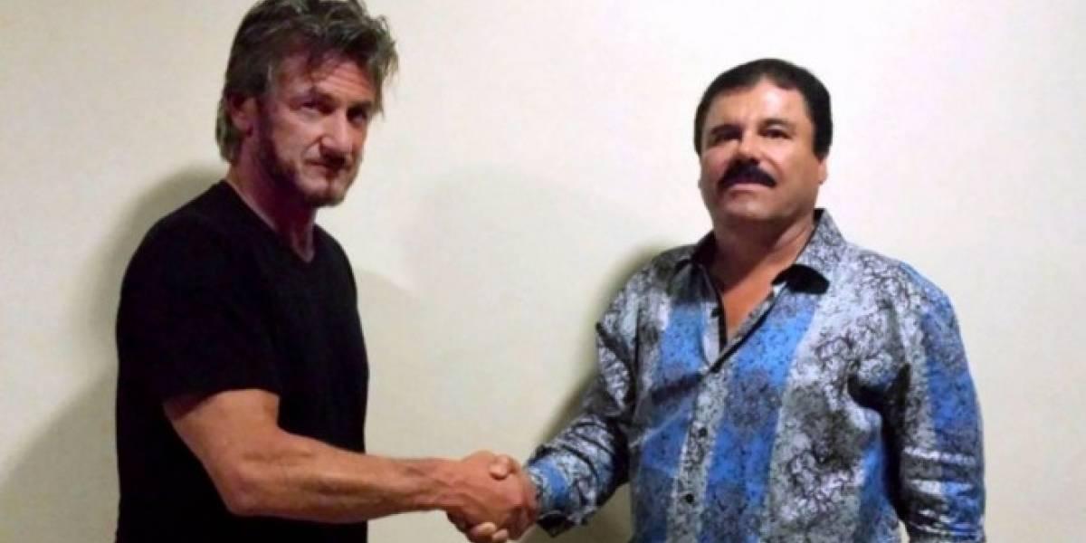 Sean Penn contactó al Chapo Guzmán mediante BlackBerry Messenger y Blackphone