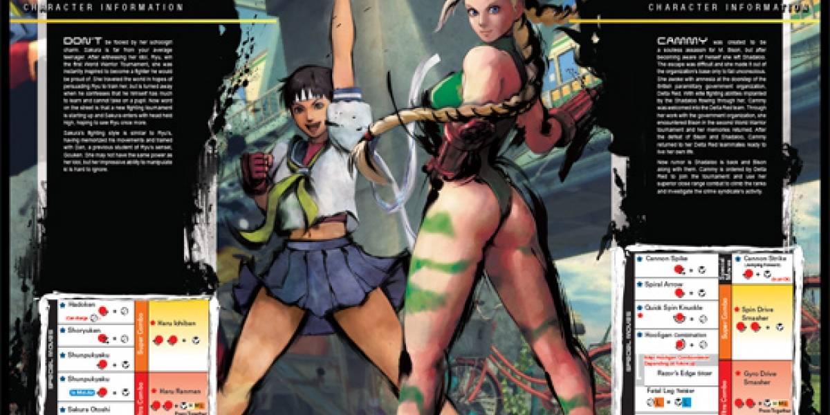 Capcom pone disponible manual de entrenamiento para Street Fighter IV