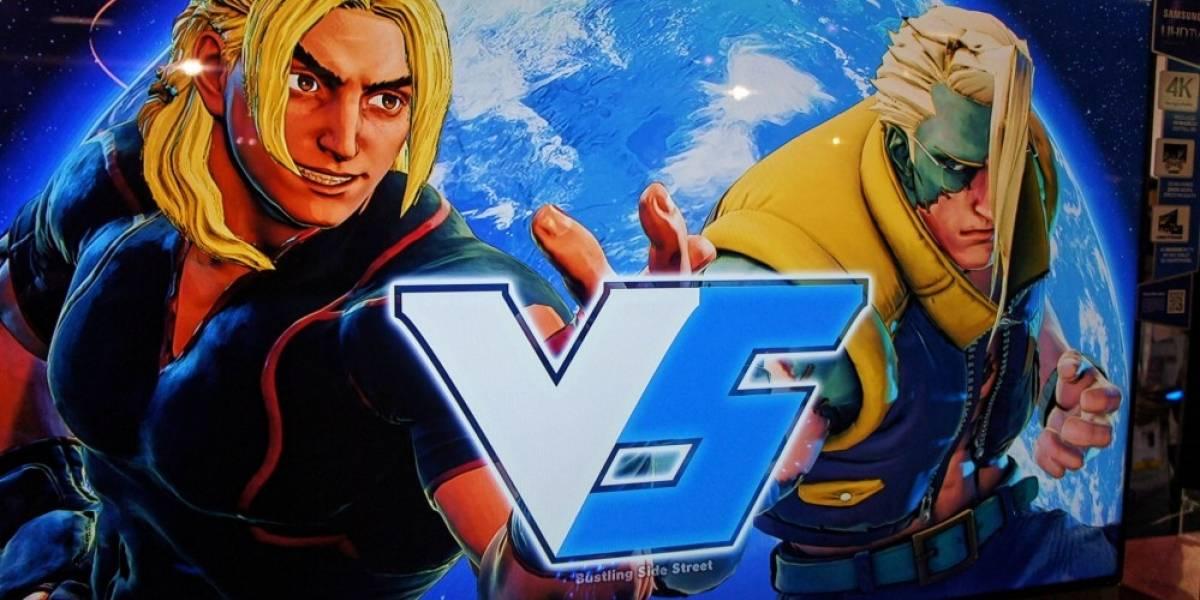 Street Fighter V A Primera Vista #BGS2015