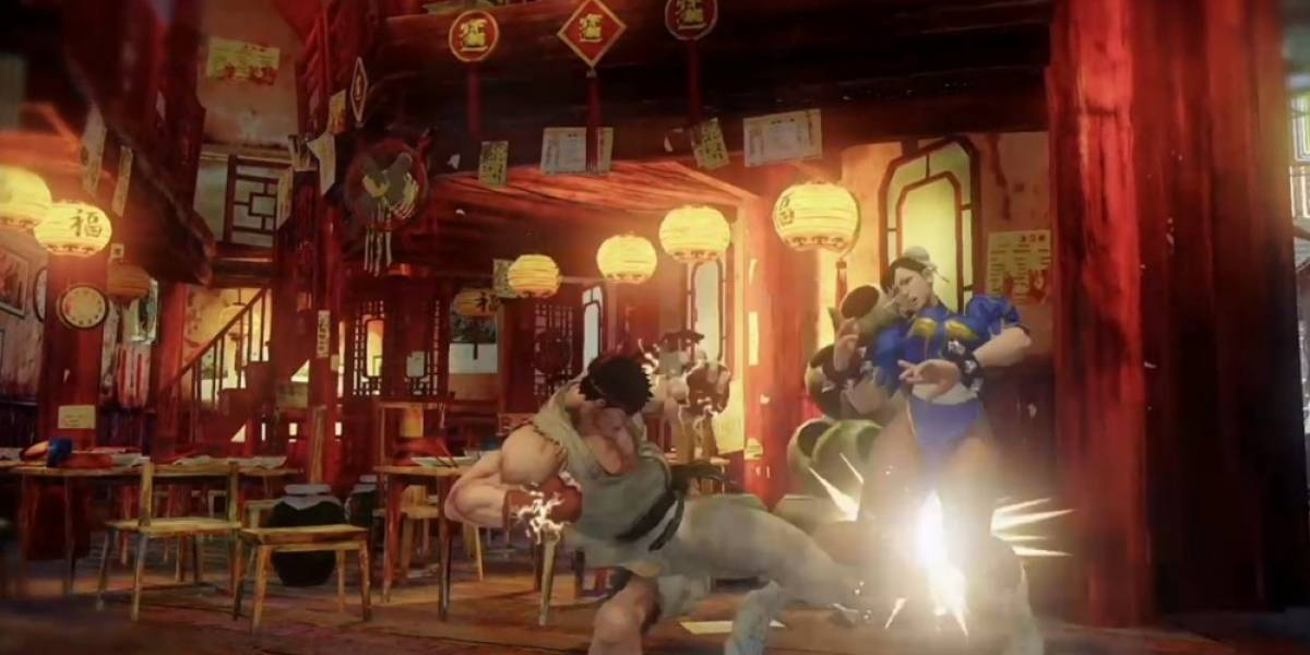 Street Fighter V anunciado para PS4 y PC #PSExperience