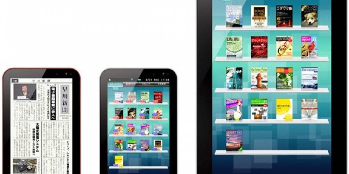 Sharp anuncia lanzamiento de dos tablets con Android para diciembre
