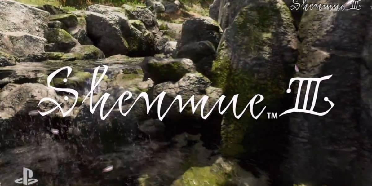 Yu Suzuki anuncia Kickstarter para Shenmue III #E32015