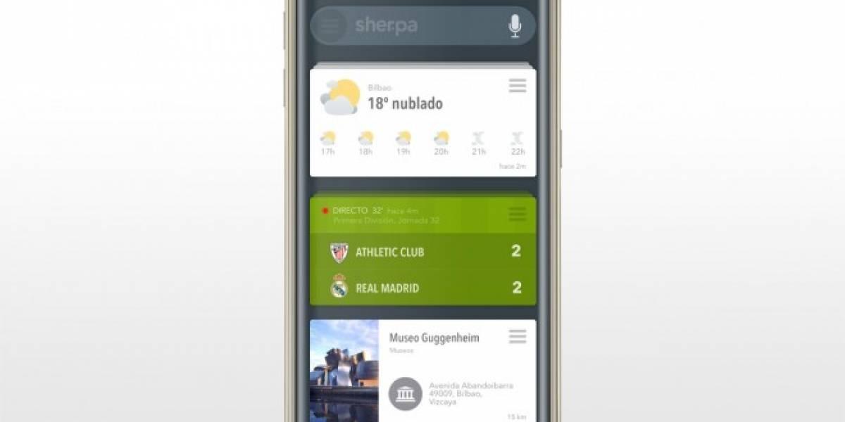 Samsung integrará el asistente Sherpa Next en los Galaxy S6