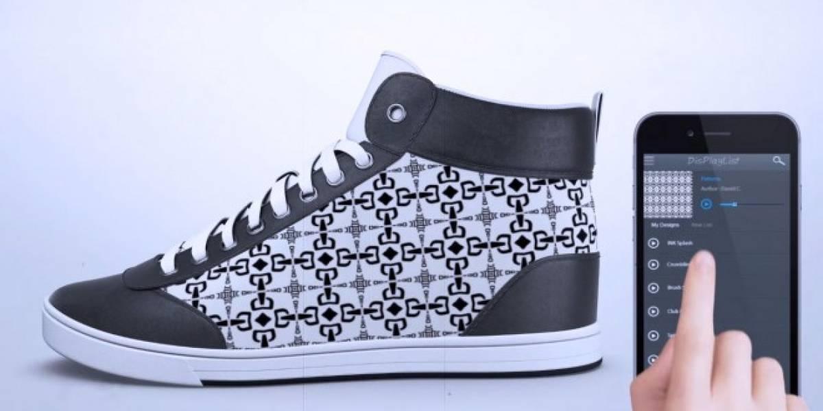 ShiftWear quiere integrar pantallas a tus zapatillas