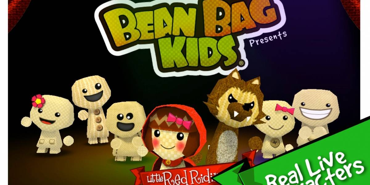 Bean Bag Kids: La Caperucita Roja - Gratis en la Apple App Store