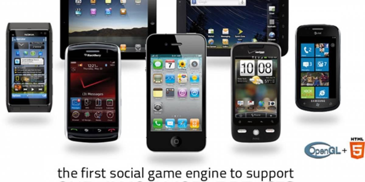 Spaceport 2.0 te permite desarrollar videojuegos compatibles en multiples plataformas