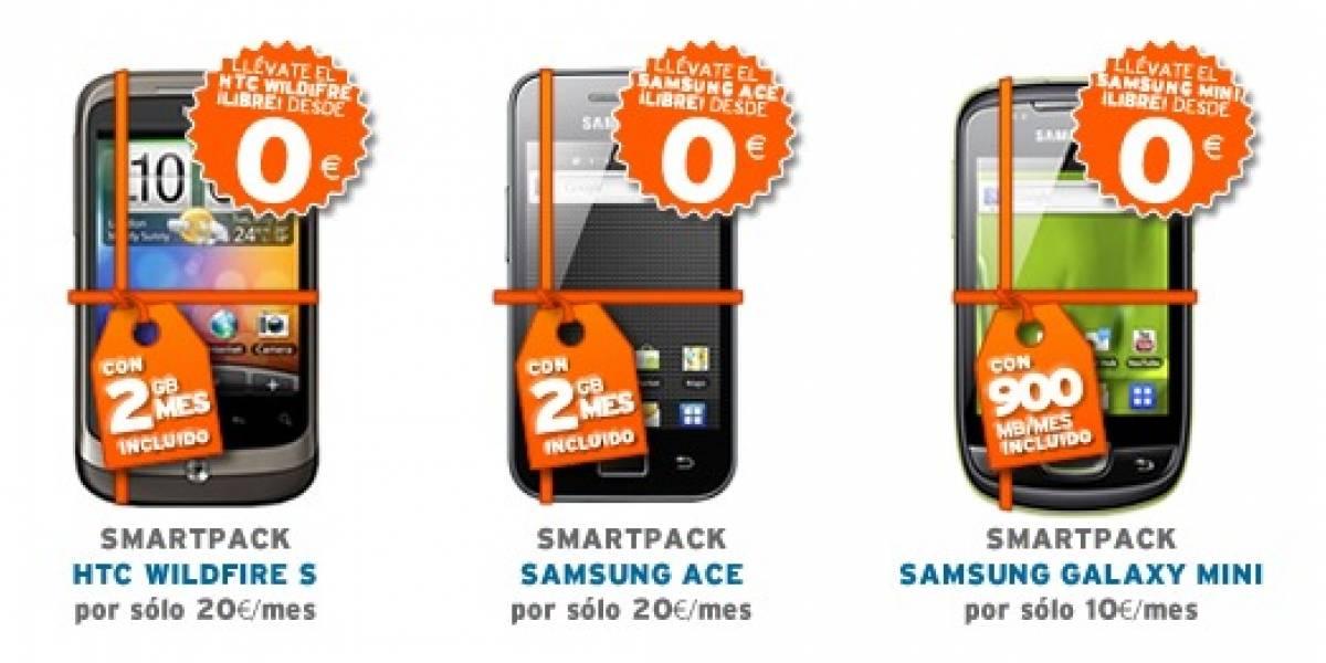 España: Simyo lanza 'Smartpacks' y ofrece terminales Android a sus clientes