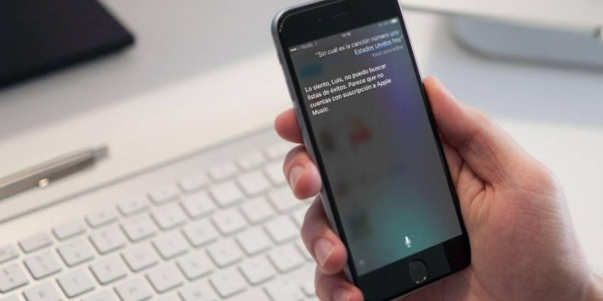 Siri no responde preguntas relacionadas con música si no tienes Apple Music