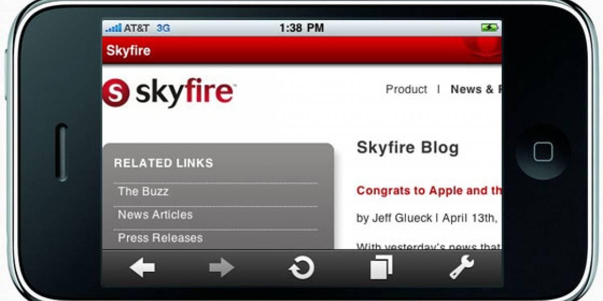 Ya se puede descargar Skyfire para iPhone