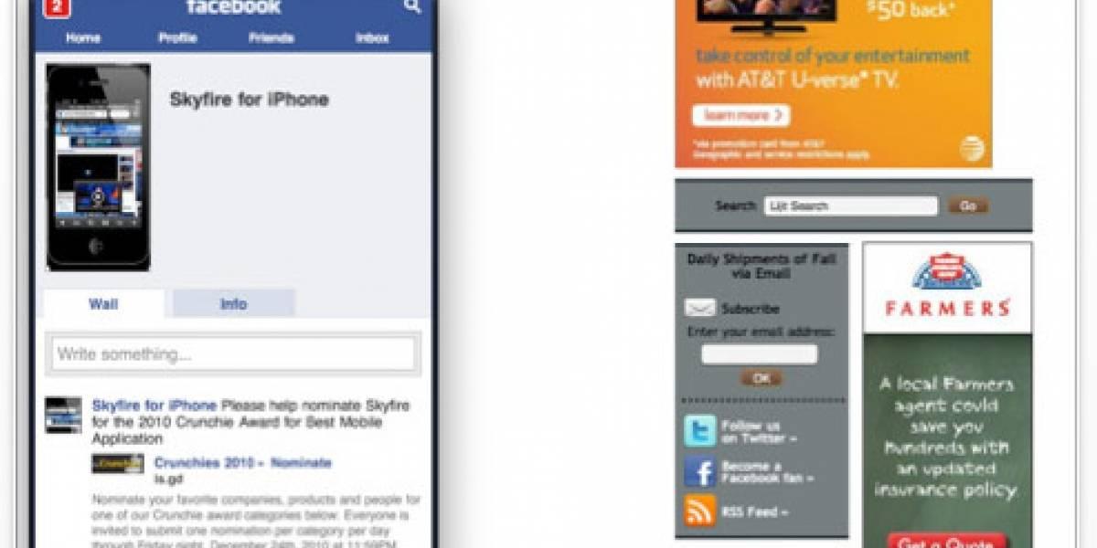 Skyfire llega finalmente al iPad con soporte para Flash y otras novedades