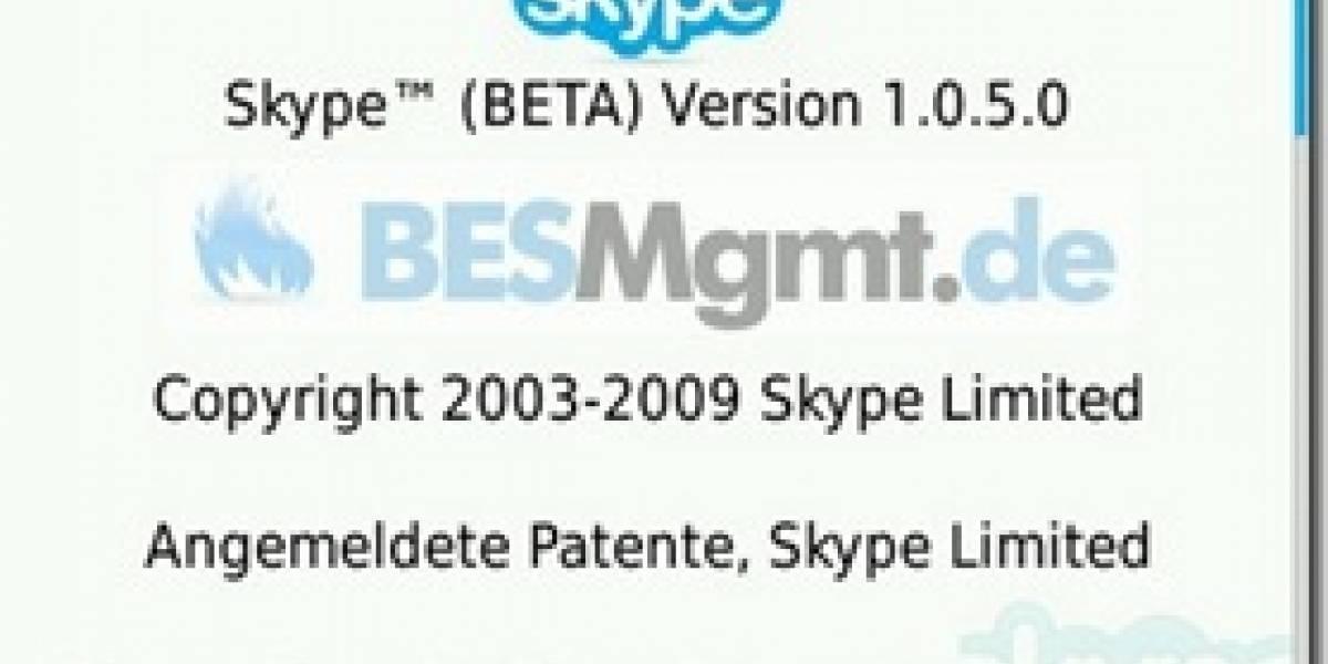 Filtran una beta de Skype para BlackBerry