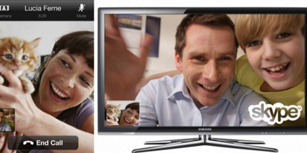 Skype de iPhone ya permite video-llamadas en TVs
