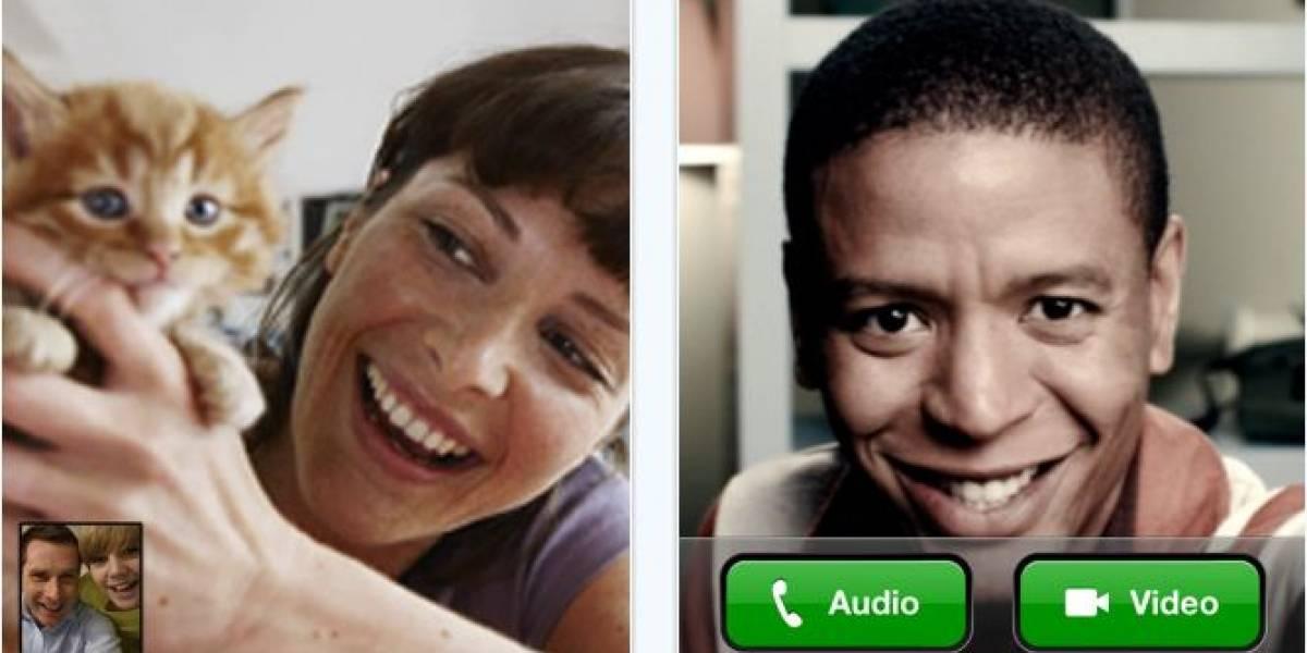 Skype lanza videollamadas en el iPhone