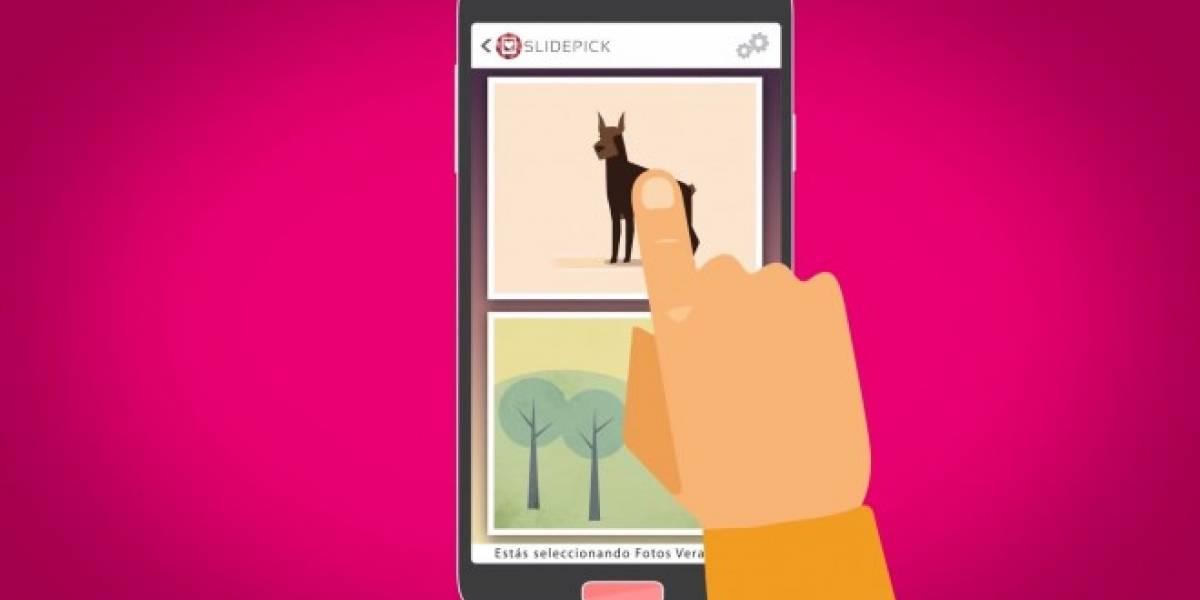 SlidePick organiza de manera sencilla tus fotografías en Android [App del día]