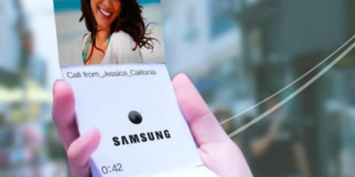 Samsung estaría trabajando en un teléfono plegable
