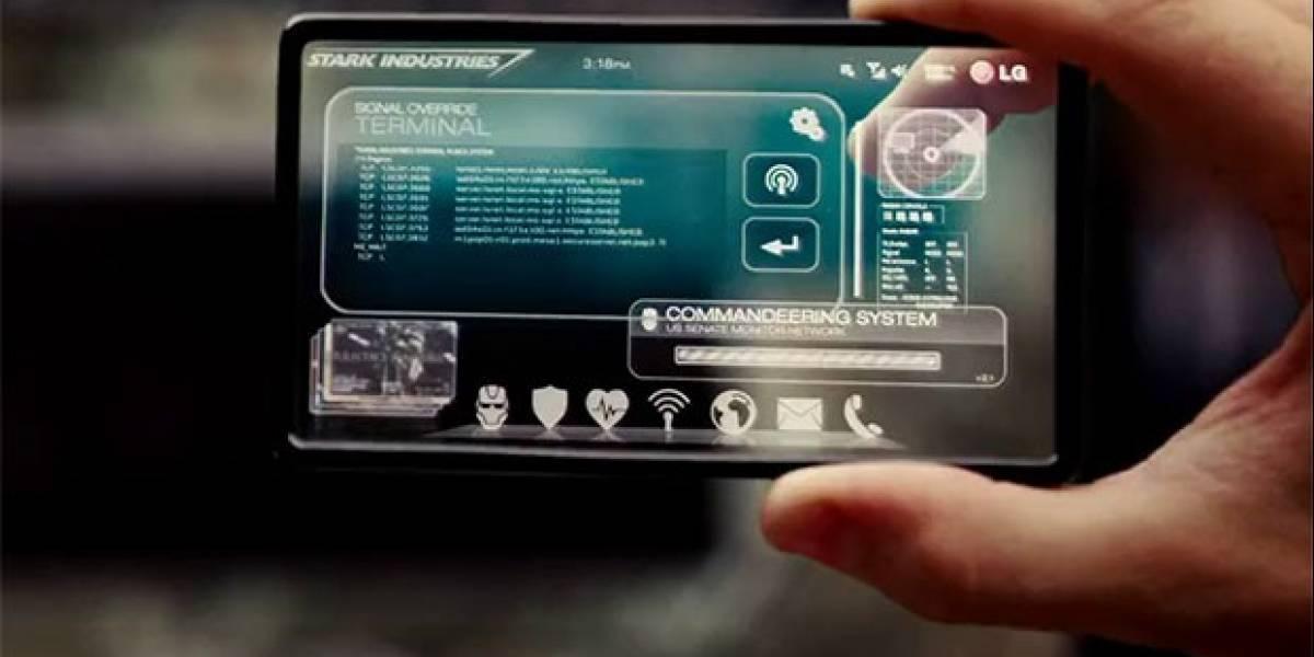 Presentan el primer prototipo de smartphone con pantalla transparente