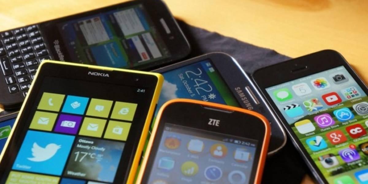 Mercado mundial de smartphones crecerá menos del 6% en 2016