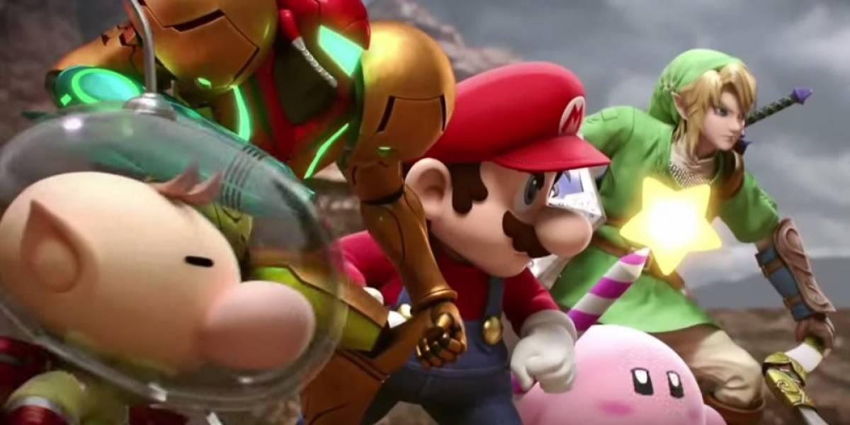 Más acción de Super Smash Bros. 3DS en video