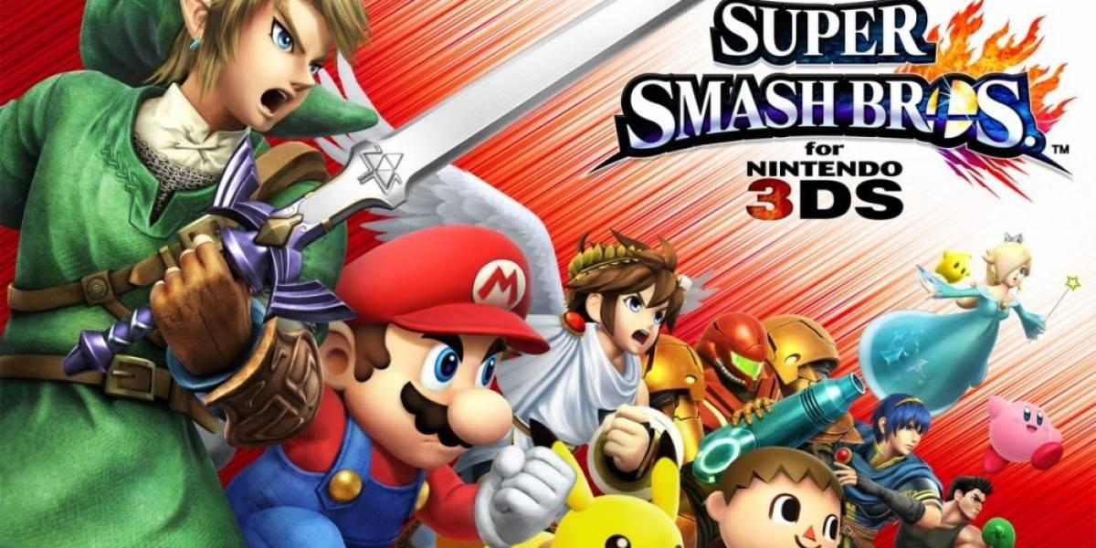 Revelan la lista completa de personajes de Super Smash Bros. para 3DS