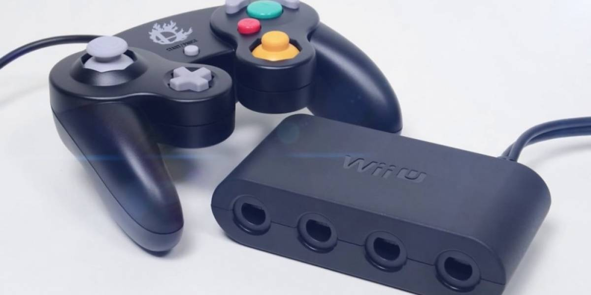 Adaptador de control de GameCube para Wii U solo funcionará con Super Smash Bros.