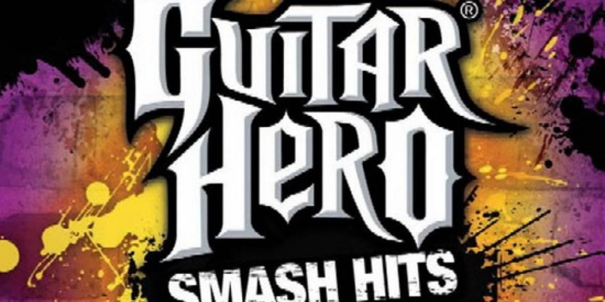 Lista definitiva de los tracks para Guitar Hero: Smash Hits