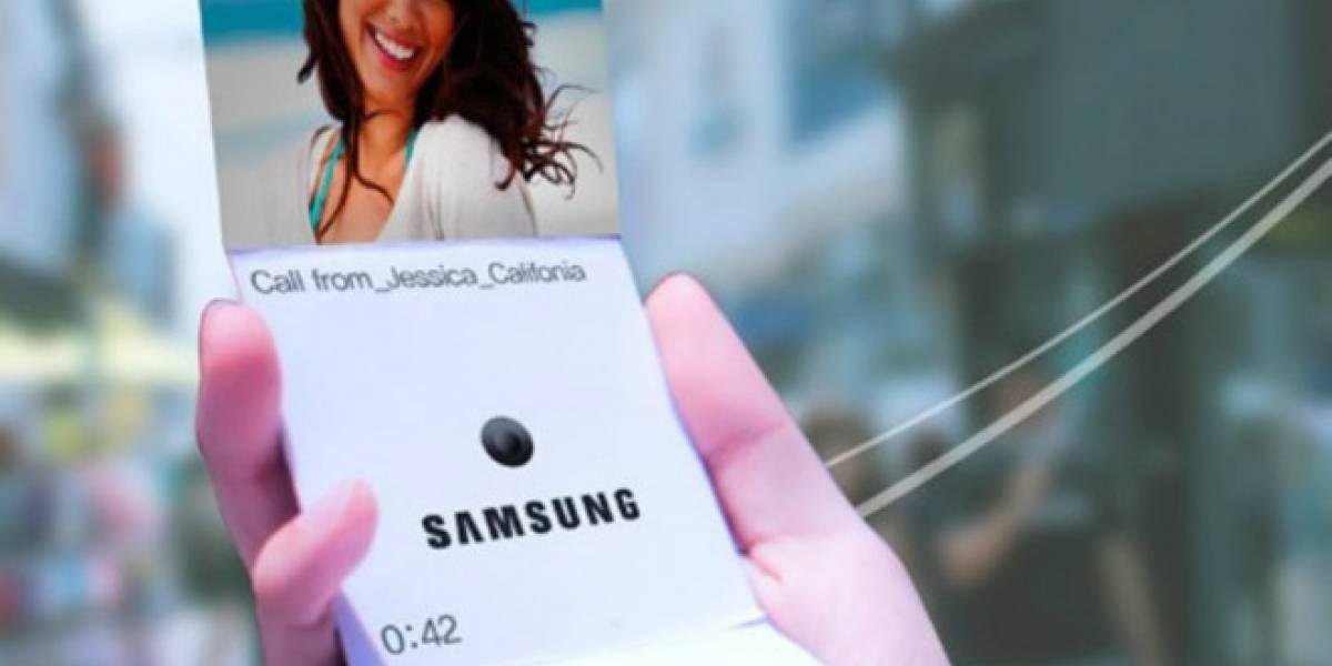 Samsung planta cara al 2016 con un smartphone plegable