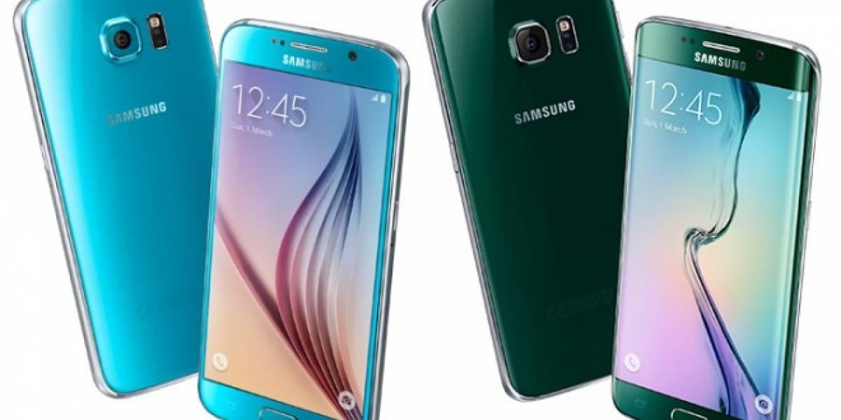 Aparece una supuesta imagen que correspondería al Samsung Galaxy S6 Edge Plus