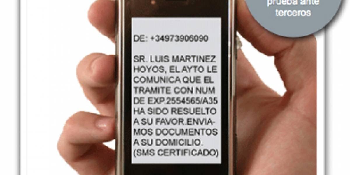 España: Presentan sistema de contratación de personal por SMS certificado