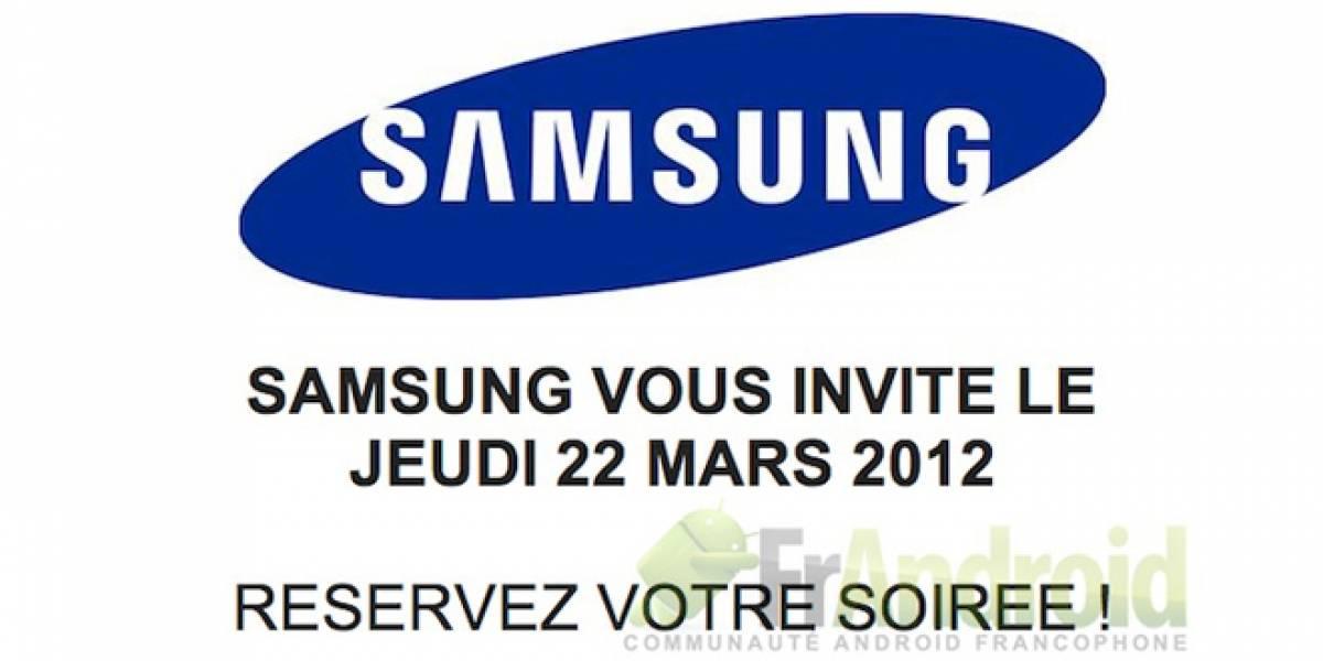 El Samsung Galaxy S III podría anunciarse a finales de marzo en Francia